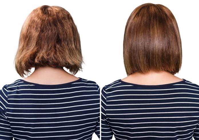 antes e depois cabelos
