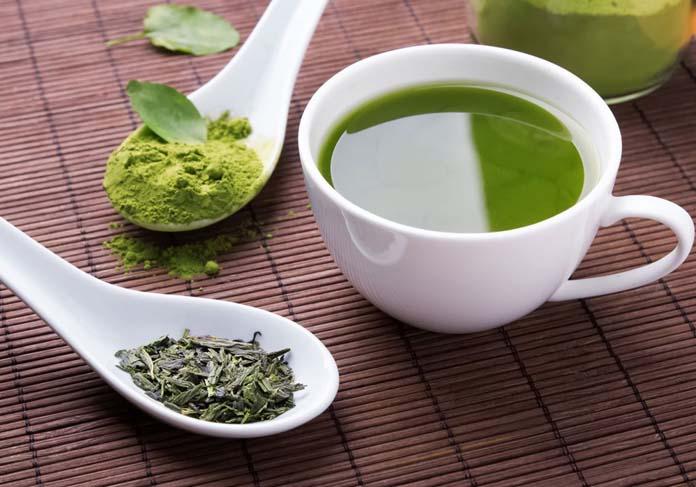 Como fazer chá verde