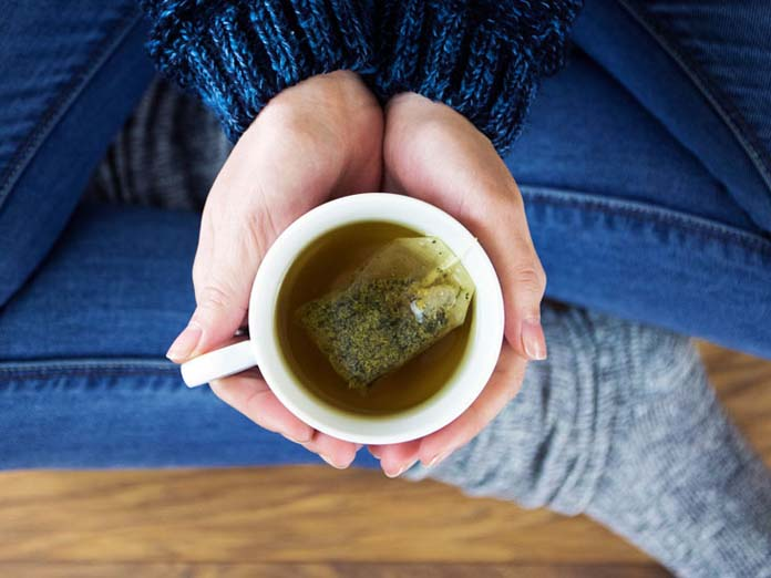 Como preparar chá verde