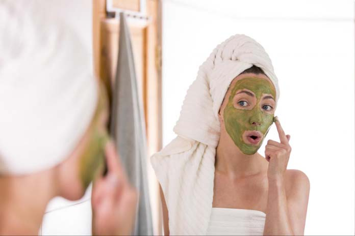 Receitas caseiras de máscara facial