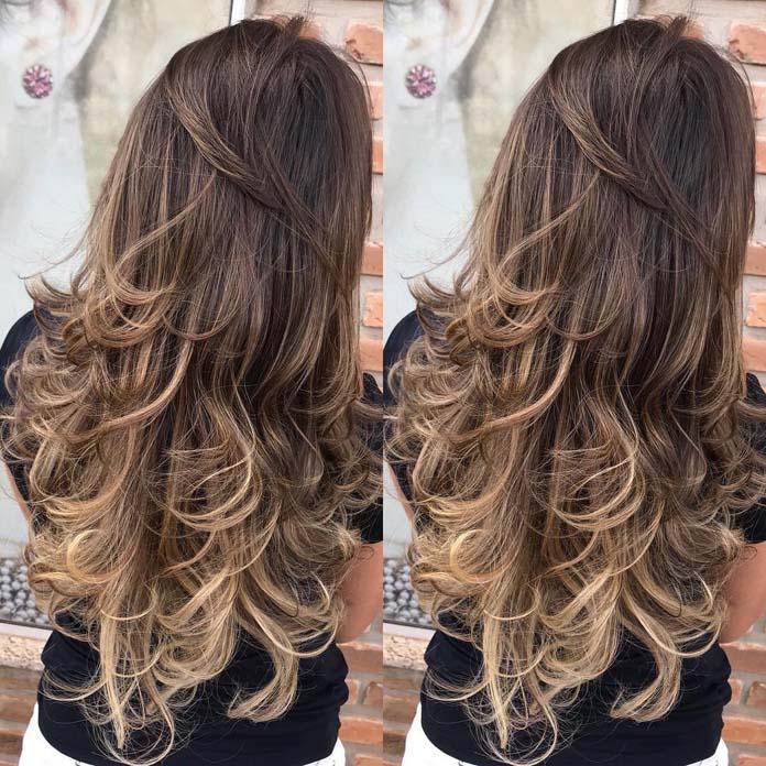 cortes de cabelo degradê feminino