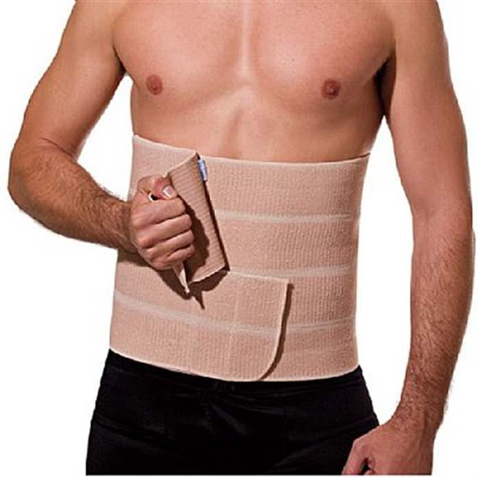Cinta abdominal pós-cirurgia