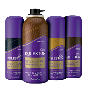 Retoque Instantâneo Spray Koleston