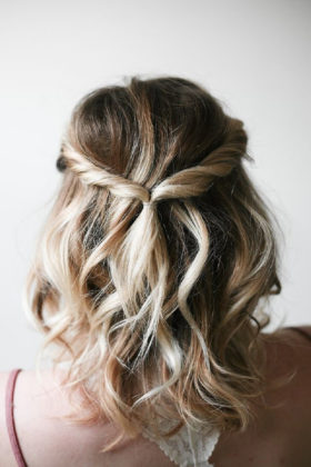 Para cabelos curtos