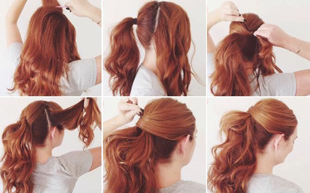 penteados para casamento Passo a passo