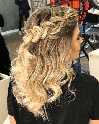 penteados para casamento de dia